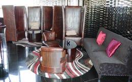самомоднейшее гостиницы штанги нутряное роскошное Стоковая Фотография RF