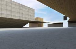 Самомоднейшее здание городское Стоковые Изображения RF