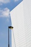 Самомоднейшее здание с голубым небом Стоковые Фотографии RF