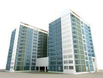 Самомоднейшее здание Стоковое фото RF