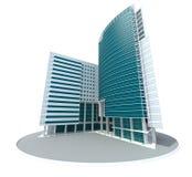 Самомоднейшее здание иллюстрация вектора