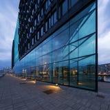 самомоднейшее здания внешнее стеклянное Стоковые Фото