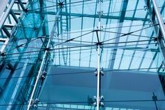 самомоднейшее здания внешнее стеклянное Стоковые Изображения RF
