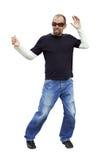 самомоднейшее изолированное танцором Стоковые Изображения