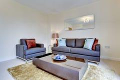 самомоднейшее квартиры нутряное стоковое фото rf