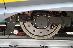 самомоднейшее колесо поезда Стоковые Изображения RF