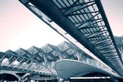 самомоднейшее метро станции Стоковая Фотография
