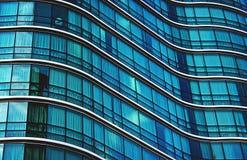 Самомоднейшее офисное здание Стоковые Изображения RF