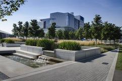 Самомоднейшее офисное здание Стоковое фото RF