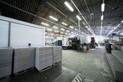 самомоднейшее печатание завода стоковое фото