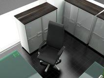 самомоднейшее рабочее место офиса Стоковые Фотографии RF