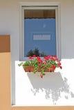 самомоднейшее сельское окно Стоковые Изображения RF
