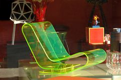самомоднейшее стула светящее Стоковые Фотографии RF