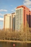 самомоднейшее фасада домашнее Стоковые Изображения RF