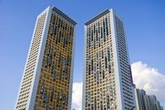 самомоднейшее фасада домашнее Стоковая Фотография RF