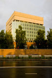 самомоднейшее фасада домашнее Стоковые Фотографии RF