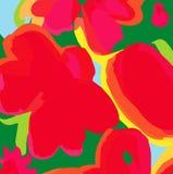 самомоднейшее backgroung флористическое Стоковое Фото