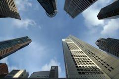 самомоднейшие башни офиса стоковые изображения