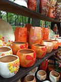 самомоднейшие вазы Стоковые Изображения RF