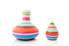 Самомоднейшие вазы Стоковое Изображение