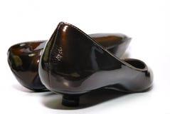 самомоднейшие женщины ботинка Стоковые Изображения