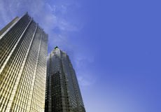 Самомоднейшие здания небоскреба Стоковая Фотография