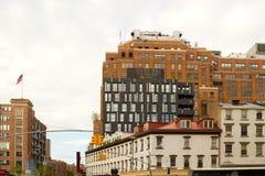 Самомоднейшие здания Челси, нью-йорк Стоковое Изображение RF