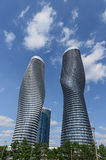 Самомоднейшие кондо в Mississauga, Онтарио Канаде Стоковая Фотография