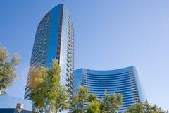 самомоднейшие небоскребы офиса Стоковое Изображение