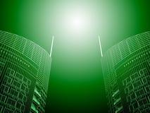 самомоднейшие небоскребы Стоковая Фотография