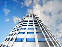 Самомоднейшие небоскребы Стоковая Фотография RF
