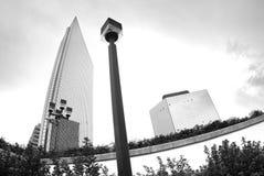 самомоднейшие небоскребы Стоковое фото RF