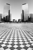 самомоднейшие небоскребы Стоковое Изображение