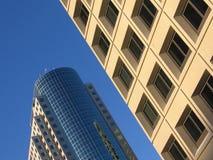 самомоднейшие офисы стоковое изображение rf