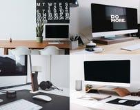 самомоднейшие офисы Стоковое фото RF