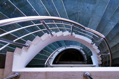 самомоднейшие спиральн лестницы Стоковое Изображение