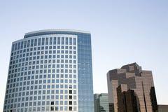Самомоднейшие buidlings офиса Стоковое фото RF