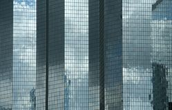 самомоднейшие skyscapers paris Стоковые Изображения