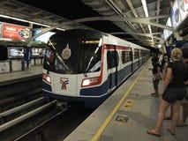 самомоднейший железнодорожный вокзал Стоковые Изображения RF