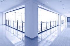 Самомоднейший интерьер здания Стоковая Фотография RF