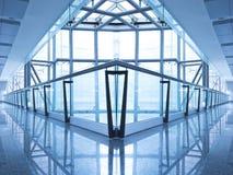 Самомоднейший интерьер здания Стоковая Фотография