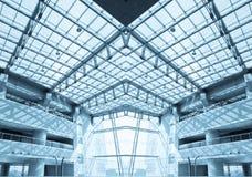Самомоднейший интерьер здания Стоковое Изображение RF
