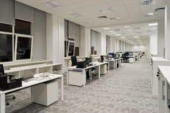 Самомоднейший интерьер офиса стоковое фото