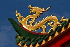 Самомоднейший китайский дракон. Стоковое Изображение RF