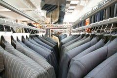 самомоднейший костюм магазина Стоковая Фотография RF