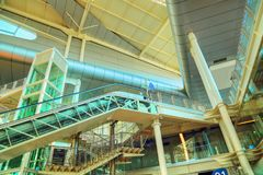 Самомоднейший крупный аэропорт Стоковое Фото