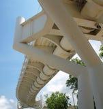 Самомоднейший мост велосипеда Стоковое фото RF