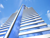 самомоднейший небоскреб Стоковое Изображение RF
