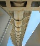 Самомоднейший пешеходный мост Стоковые Фото