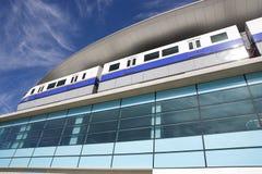 самомоднейший поезд Стоковое фото RF